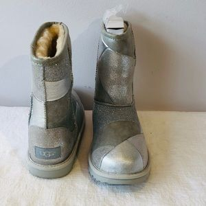 UGG Australia**Silver Patch Gorgeous Boots**$150